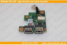 V000240450 Toshiba Satellite Pro L630 (PSK01A-00V015) USB BOARD CARD READER BOARD