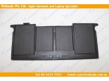 "New Laptop Battery For Apple A1375 A1370 MC505LL/A MC506LL/A MacBook Air 11"" Original"
