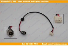 DC Power Jack Socket and Cable Wire DW219 Toshiba Satillite L650 L650D L655 L655D T135 L755 L755D