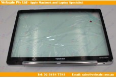 Toshiba Satellite A500 A505 A505D Series LCD Front Bezel With Glass Overlay