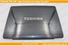 Toshiba Satellite A300 A305 A305D LCD Back Cover W/ bezel Gray P/N: V000120100