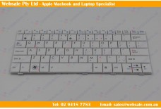 Laptop Keyboard for ASUS EEE PC 1005HA 1001HA 1005P 1005PX 1005HAG 1005PE 1005PR 1005HE 1008-HA 1008HE MP-09A33US-5282 White US