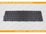 DELL Backlit Keyboard with frame for Dell Latitude 3570
