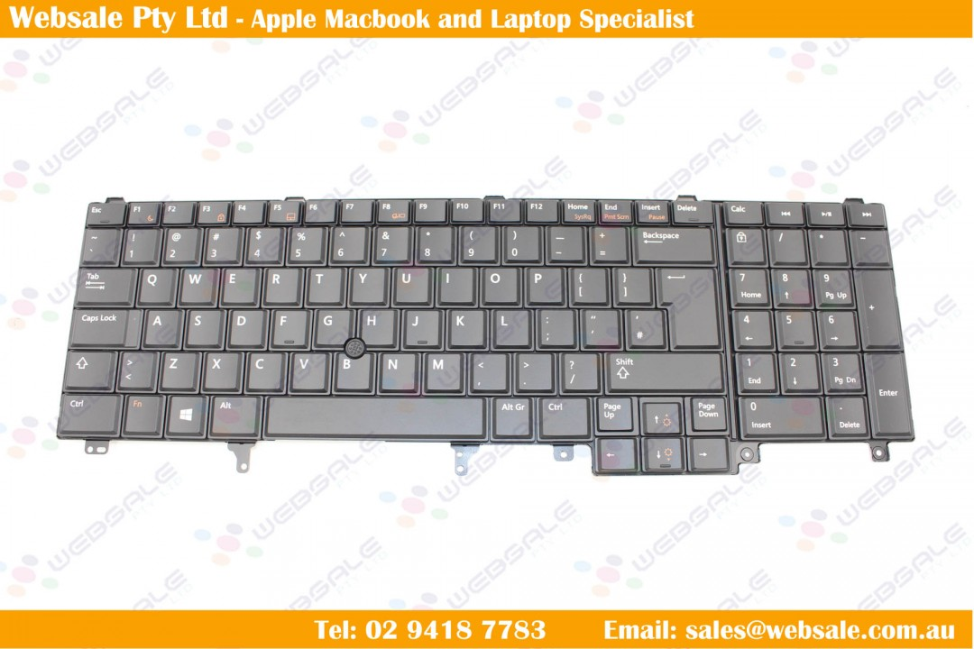 Keyboard DELL P/N: NSK-DW0UC NSK-DW0UC PK130FH1A00 Black US,Pointing
