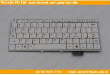 Replacement Keyboard for IBM Lenovo Ideapad S9 S9e S10 S10e, US, White
