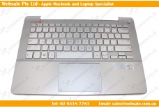 NEW FOR Samsung NP740U3E 740U3E 730U3E US Keyboard Palmrest Touchpad