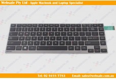 Toshiba Satellite U900W U940 U920 U925 AEKZ1U00010 09E13464 Series US Keyboard Tested Black with gray frame